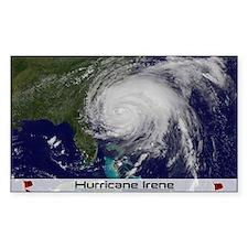 Hurricane Irene poster 2 Decal