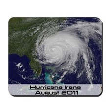 Hurricane Irene poster 2 Mousepad