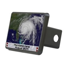 Hurricane Irene poster 2 Hitch Cover