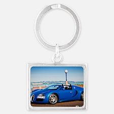 Bugatti5 Landscape Keychain