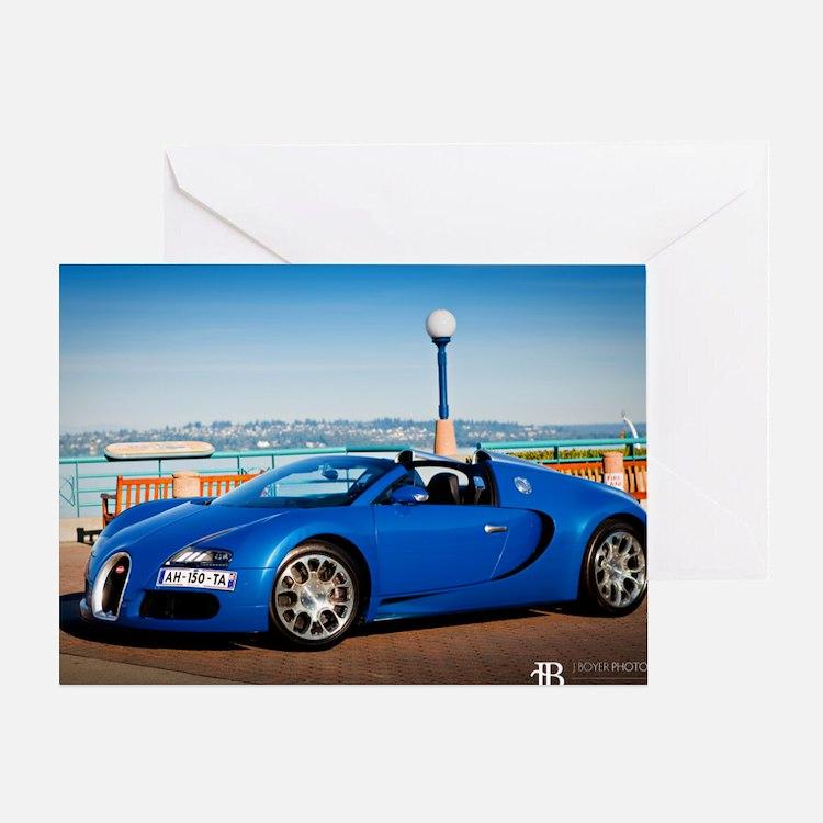 Bugatti5 Greeting Card