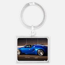 Bugatti8 Landscape Keychain