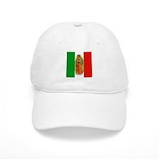 Virgen de Guadalupe - Mexican Flag Baseball Cap