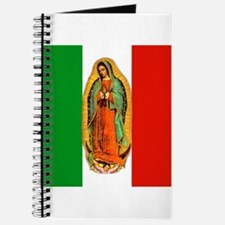 Virgen de Guadalupe - Mexican Flag Journal