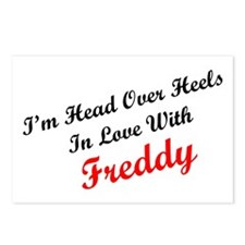 In Love with Freddy Postcards (Package of 8)