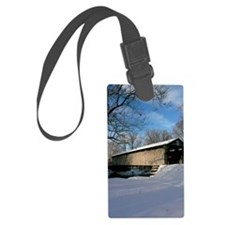 Covered Bridge Luggage Tag