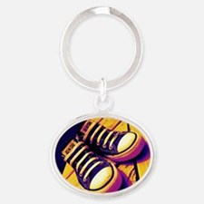 Converse Oval Keychain