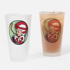 hockey-womb-T Drinking Glass