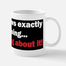anti obama knowsd Mug