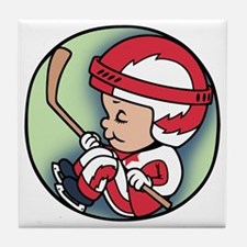 hockey-womb-T Tile Coaster