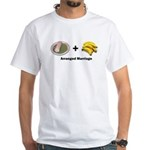 Arranged Marriage White T-Shirt