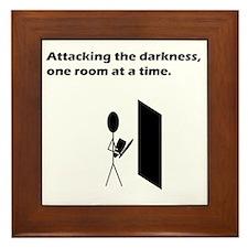 attackingdarkness Framed Tile