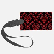 black red wallpaper Luggage Tag