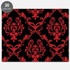 black red wallpaper Puzzle