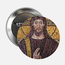 "Jesus Mosaic at Ravenna 2.25"" Button"