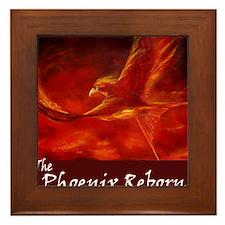 phoenix-pillow Framed Tile