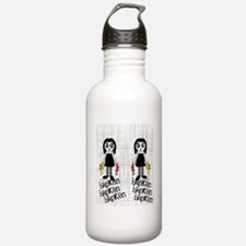 gothbrokenflipflops Water Bottle