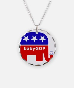Baby GOP_Blue Necklace