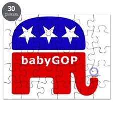 Baby GOP_Blue Puzzle