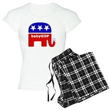Baby GOP_Blue pajamas