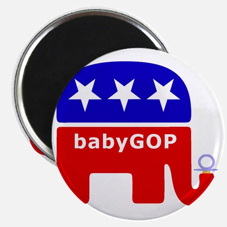 Baby GOP_Blue Magnet