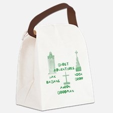 Going Ghost Adventures Tee Canvas Lunch Bag