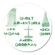 Going Ghost Adventures Tee Round Car Magnet