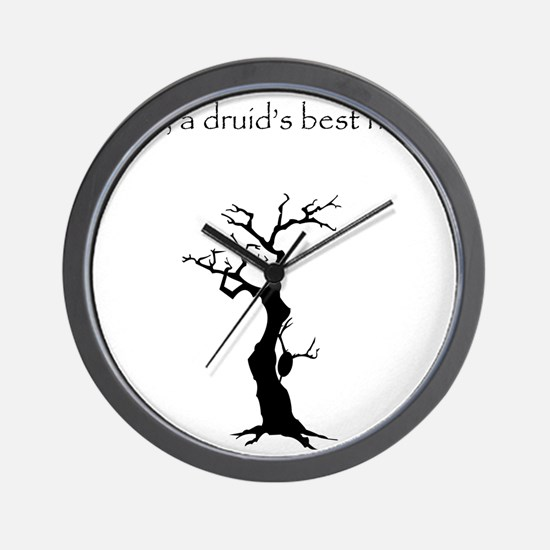 druid los Wall Clock