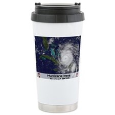Hurricane Irene poster Travel Mug