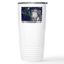 Hurricane Irene poster Travel Coffee Mug