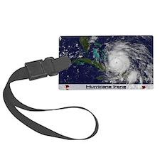 Hurricane Irene poster Luggage Tag