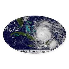 Hurricane Irene poster Decal