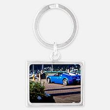 Bugatti7 Landscape Keychain