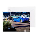 Bugatti veyron Greeting Cards