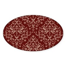 red wallpaper Decal