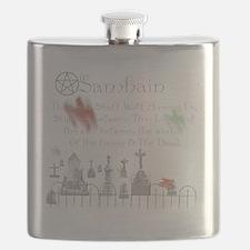 Ghost Among Us Flask