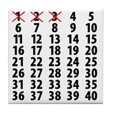 Countdown Tile Coaster