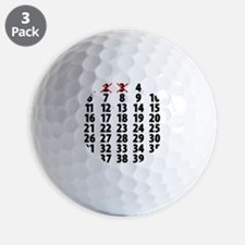 Countdown Golf Ball