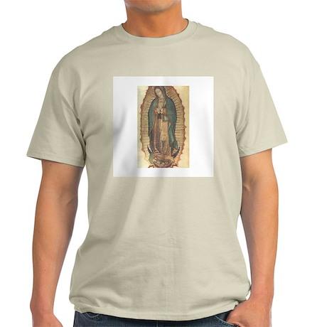 Virgen de Guadalupe - Origina Ash Grey T-Shirt
