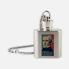 Polk Flask Necklace