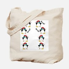 piratepenguinarrghflipflop Tote Bag