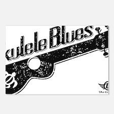 Ukulele Blues Postcards (Package of 8)