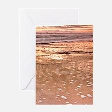 BeachRockForeground Greeting Card