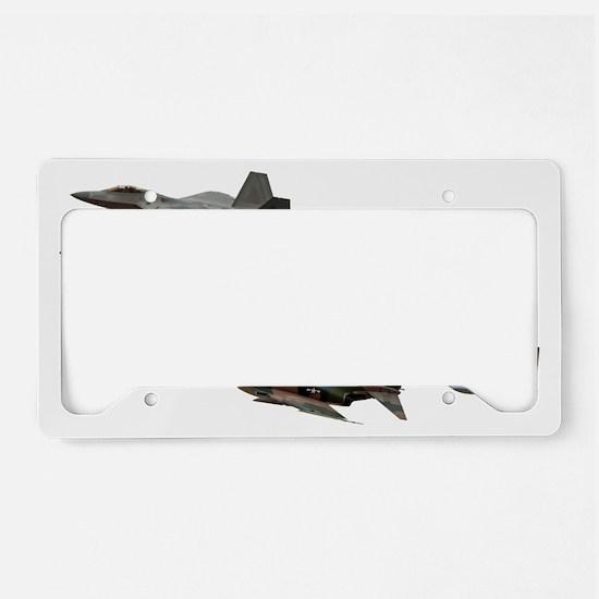 Heritage Flight License Plate Holder