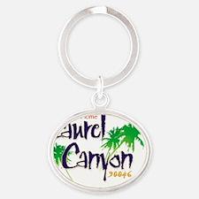 Sweet Home Laurel Canyon Logo Oval Keychain