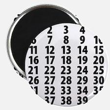 Countdownplain Magnet
