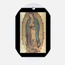 Virgen de Guadalupe - Origina Oval Ornament