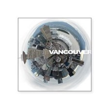 """Vancouver Square Sticker 3"""" x 3"""""""