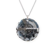 Vancouver Necklace Circle Charm