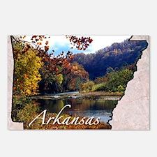 ArkansasMap28 Postcards (Package of 8)